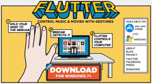 flutter app google acquired gesture control