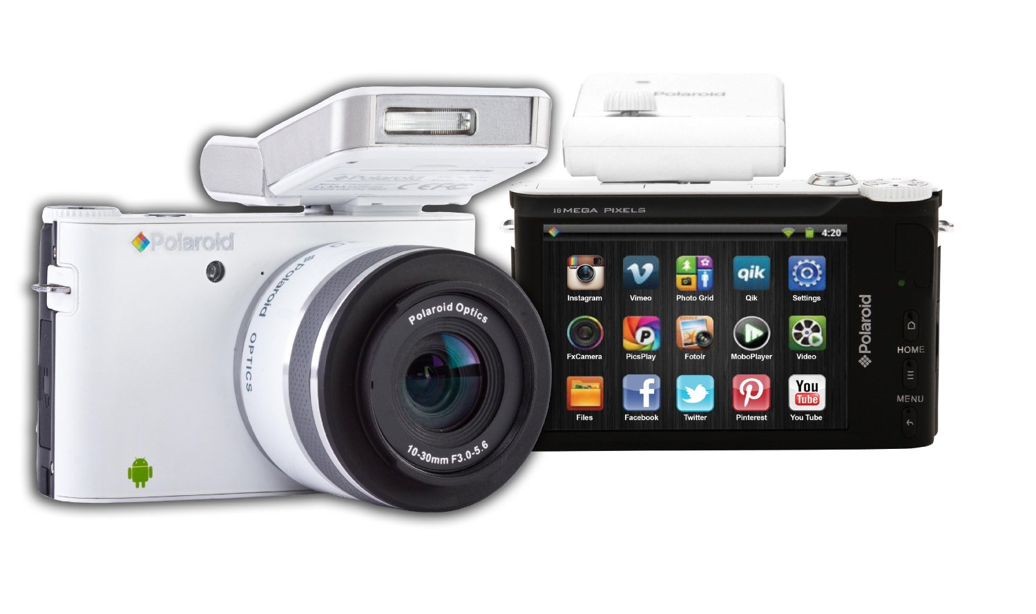 Polaroid's iM1836 Android Powered, Lens-Swapping Camera Now ...