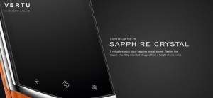 vertu constellation sapphire screen luxury android phone