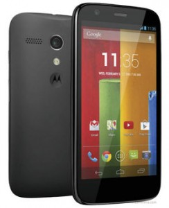 moto g front and rear