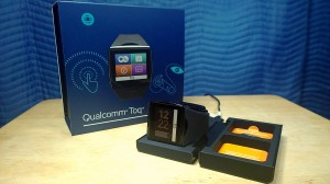qualcomm toq box smartwatch wireless charge cradle review somegadgetguy