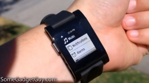 pebble smartwatch review somegadgetguy direct sunlight