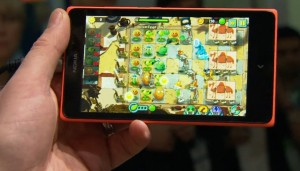 nokia xl android plants vs zombies