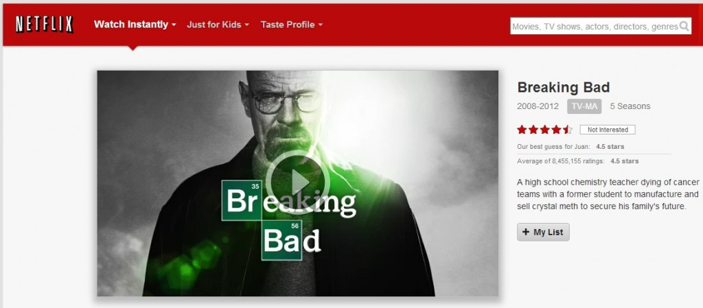 breaking bad 4k netflix