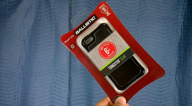 ballistic tungsten slim case for iphone 5s review somegadgetguy