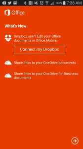 microsoft office android app update somegadgetguy