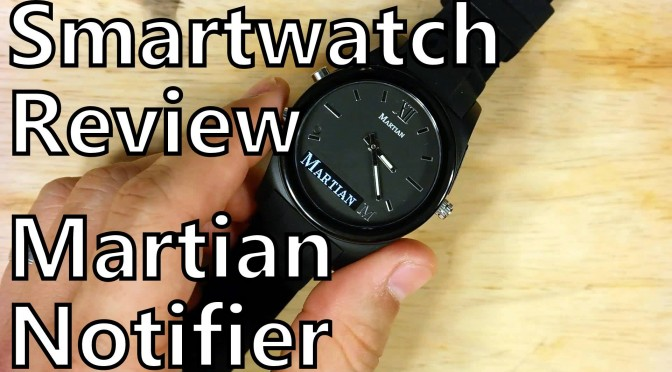 somegadgetguy smartwatch review martian notifier