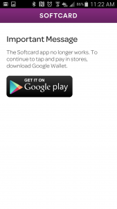 softcard isis google wallet android app dead somegadgetguy nfc mobile payments