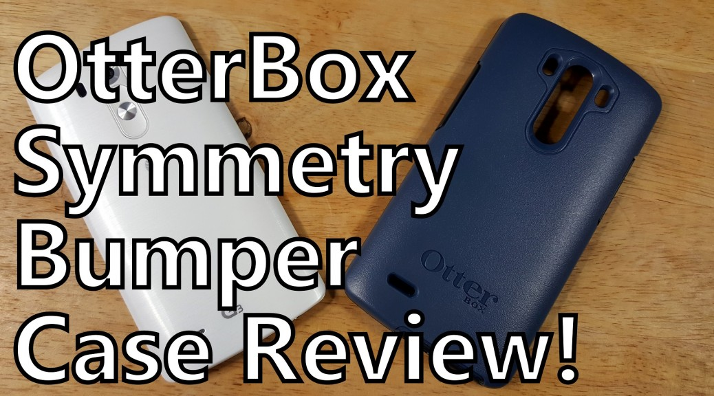 otterbox symmetry bumper case review somegadgetguy