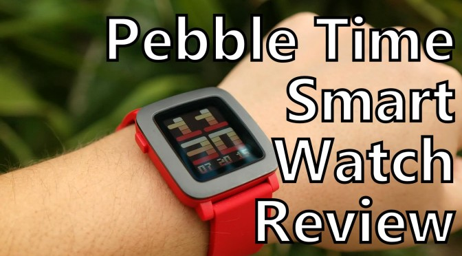 pebble time smartwatch long term review somegadgetguy