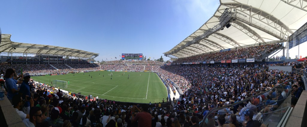 01 StubHub Center for LA Galaxy Game against NYC August 23 2015
