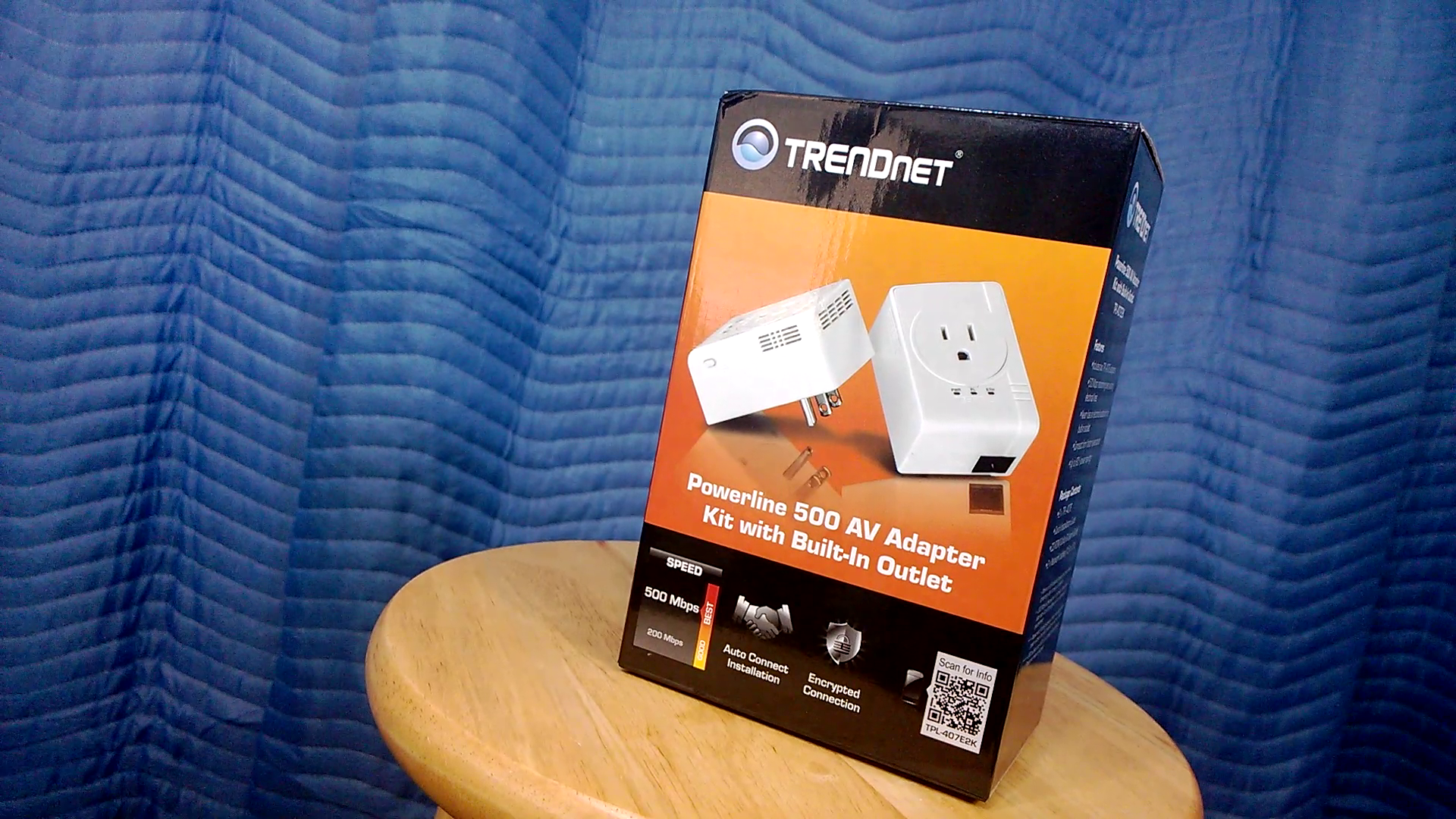 Review Trendnet Powerline 500 Av Adapter Kit Internet Over Your Home Wiring Homes Electrical