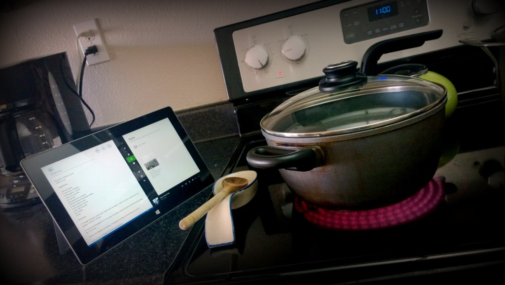 somegadgetguy cooking with a surface 2