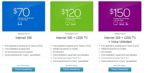 att uverse bundles austin gigapower double play triple play