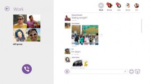 viber for windows 8 screenshot