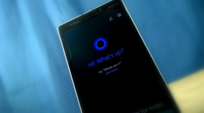 Windows Phone 8_1 Cortana