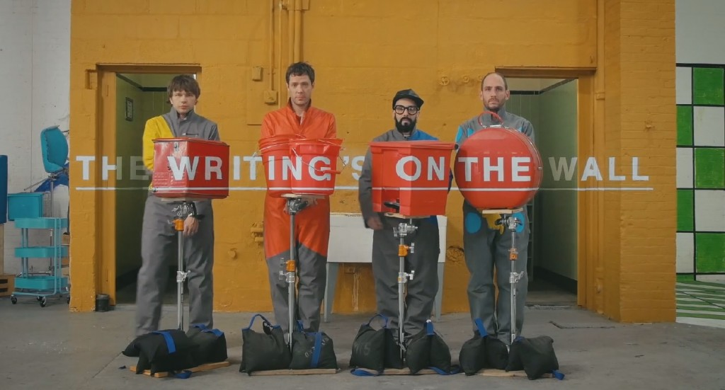 ok go writings on the wall music video