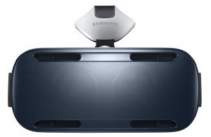 samsung gear vr headset front view