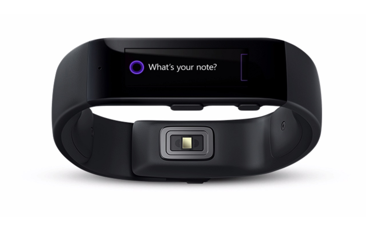 Microsoft Band Fitness Tracker Smart Watch Health Monitor