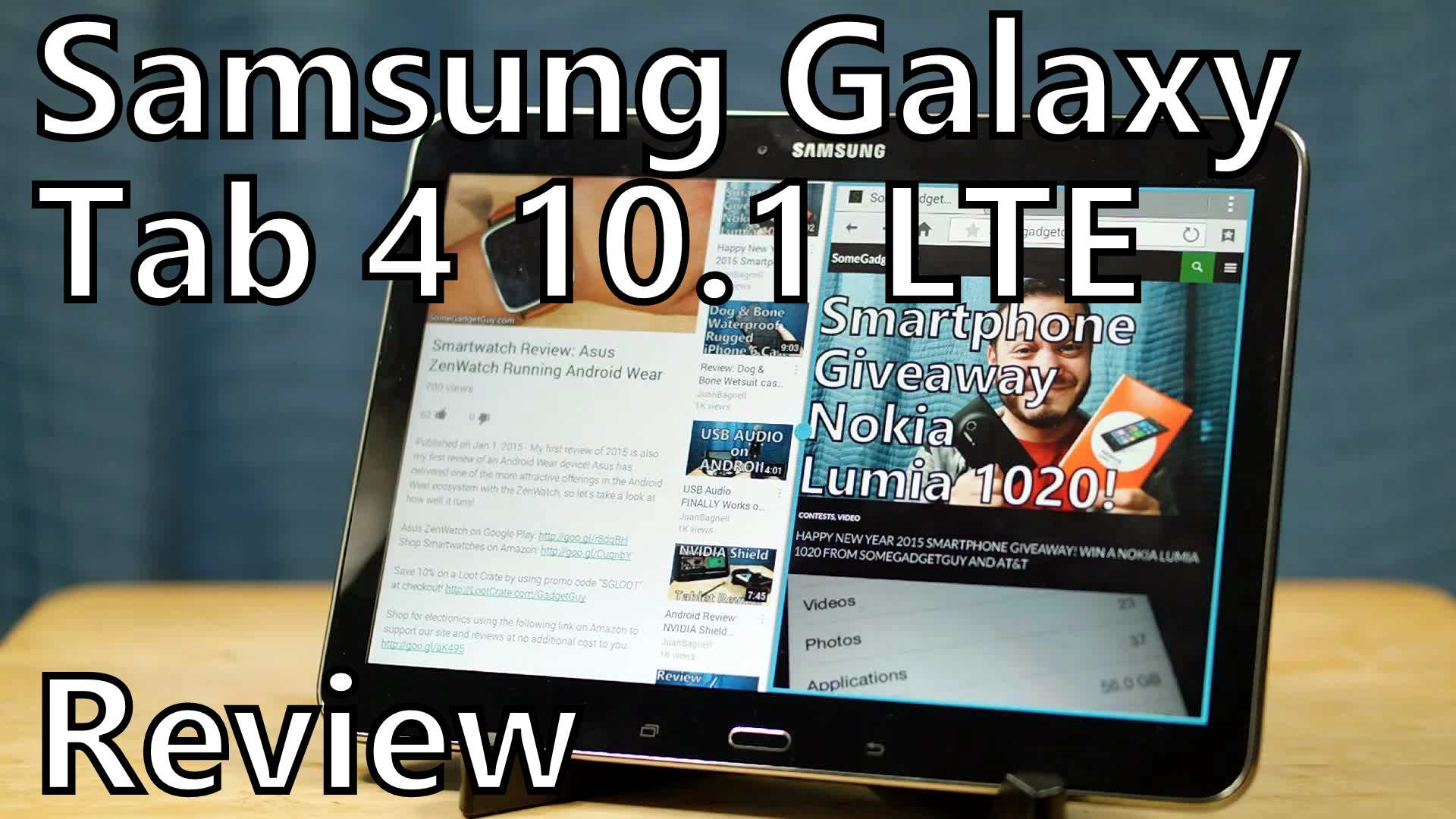 Review: Samsung Galaxy Tab 4, 10 1 on AT&T – LTE on an