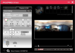 kodak pixpro beta software sp360 youtube 360 degree video support somegadgetguy