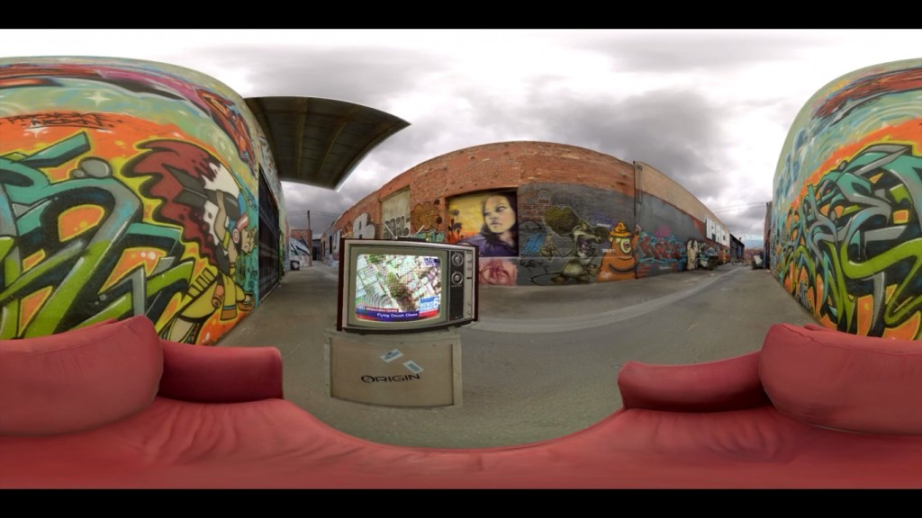 youtube panorama video 360 degree demo