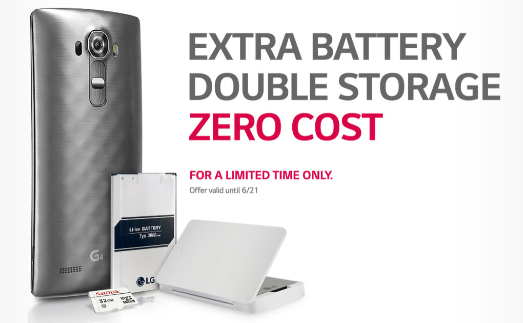 lg g4 free battery memory card promotion