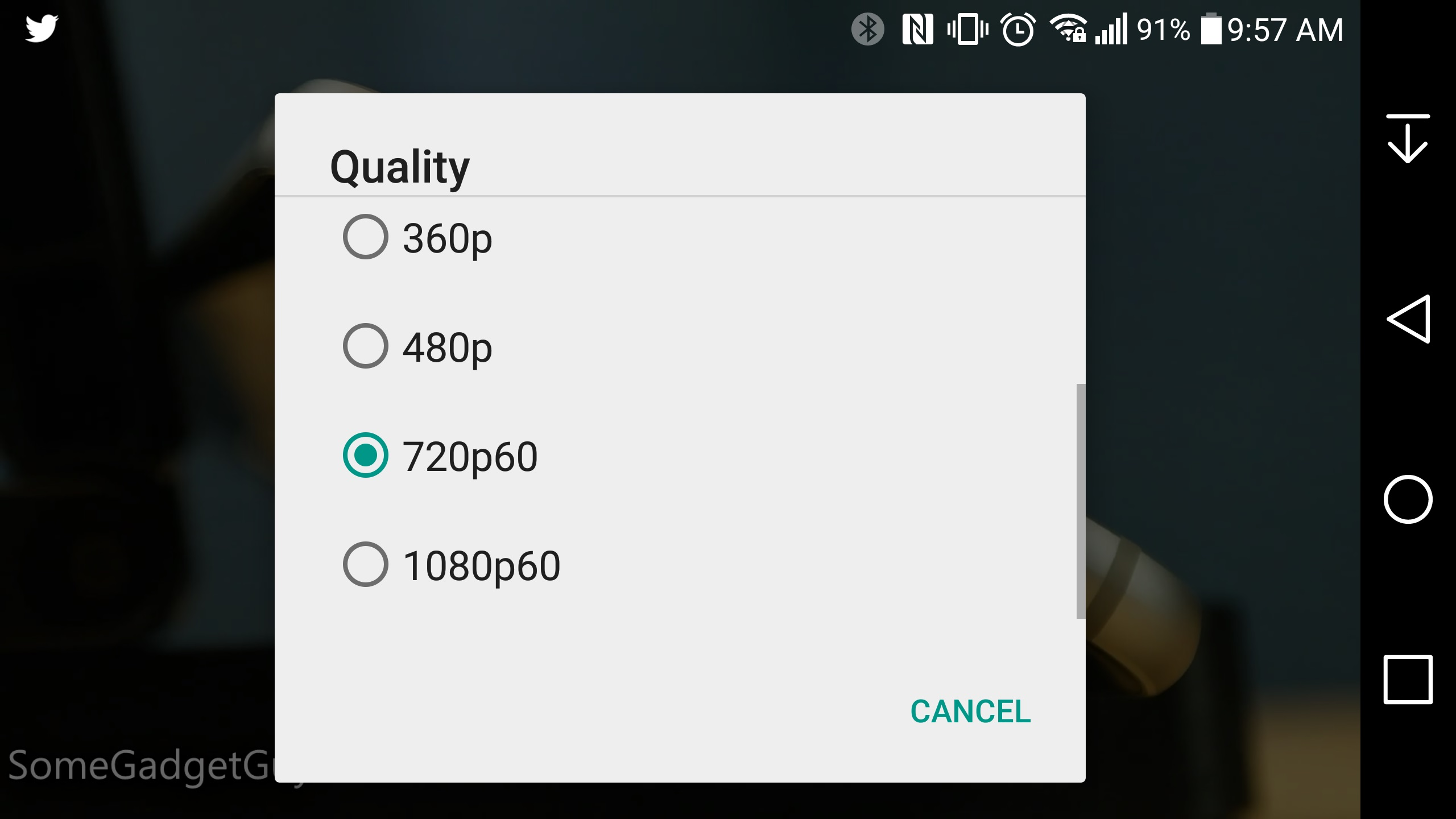 Youtube Rolling Out 60 FPS Playback on Android & iOS Apps