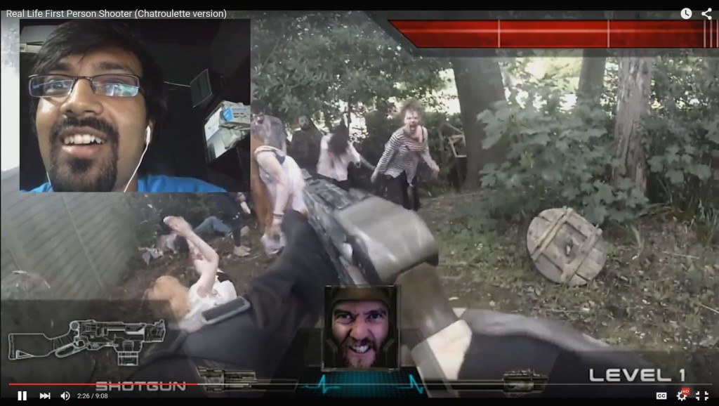 chatroulette first person shooter