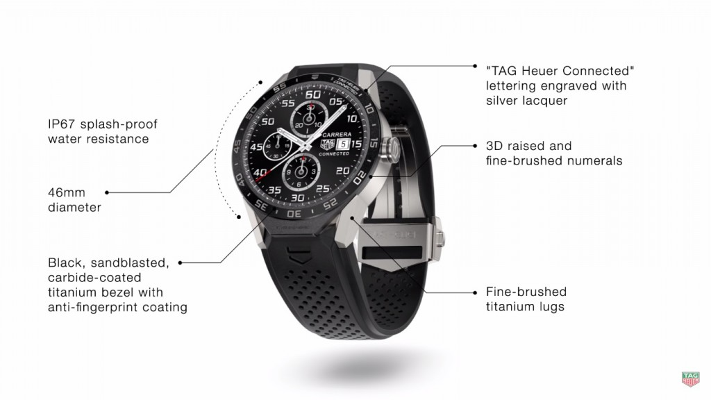 tag heuer connected smart watch android wear luxury (2)